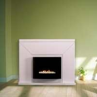 China GF02A+MT02F-W Gas fire with mantel (Gas Fireplace) on sale
