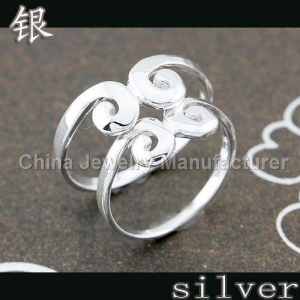China 925 Sterling Jewelry Silver Valentine Rings Jewelry on sale