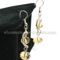 Fashion costume crystal drop earrings