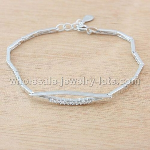 China 925 sterling silver Hearts & Arrows bracelets on sale