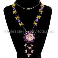 red Costume Jewelry Zircon necklaces