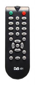 China DVB remote control XZY-D03 on sale