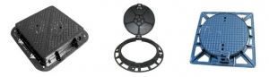 China Ductile Iron Pipes Manhole Covers & Gratings on sale