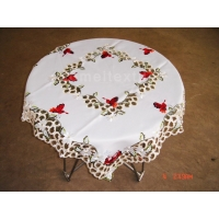 Table runner Embroidery table cloth -XABG-267A