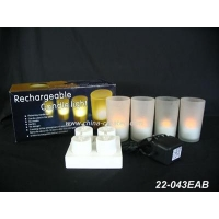China Rechargeable LED Candle light on sale