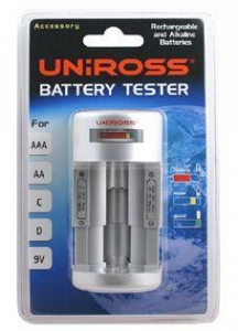 China Household Batteries Uniross Universal Battery Tester...[29991001] on sale