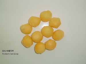 China IQF Fruits Cantaloup on sale