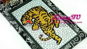 China Static sticker Rhinestone CRYSTAL STICKER on sale