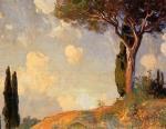 Impressionist(3830) A_Landscape_Study_at_San_Vigilio_Lake_of_Garda