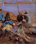 Impressionist(3830) Egyptians_Raising_Water_from_the_Nile