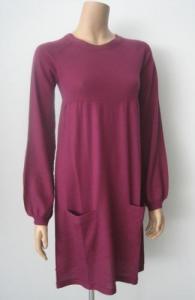China Women Cashmere Sweater Pocket Cashmere Dress on sale