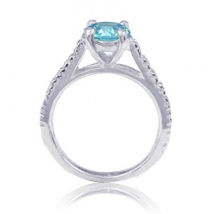 China 925 Sterling Silver Engagement Ring on sale