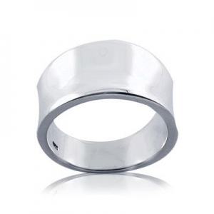 China 925 sterling Silver Plain Band Ring on sale