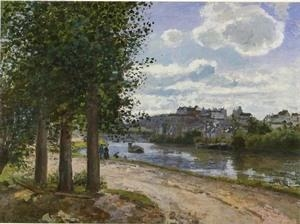 China Impressionist(3830) Banks_of_the_Oise