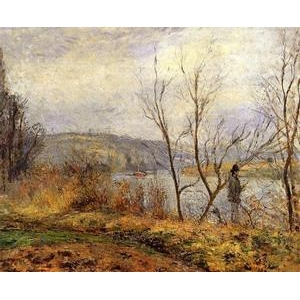 Impressionist(3830) The_Banks_of_the_Oise,_Pontoise