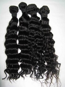 China Indian Remy human hair extensions/weft/machine weaving hair BD-R105 on sale