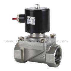 China STAINLESS STEEL HYDRAULIC SOLENOID VALVE on sale