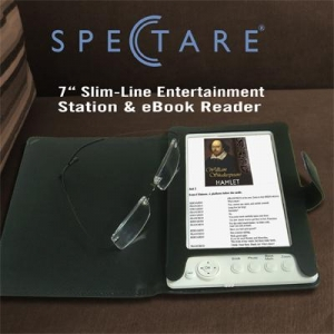 China 7 Slim-line Entertainment Station and eBook Reader model SP 12108A on sale