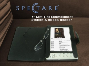 China 7 Slim-Line Entertainment Station and ebooks Reader model SP 12108A on sale