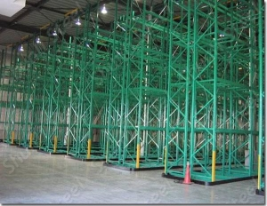 China Very Narrow Aisle Pallet Racking on sale