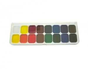 China NO.16 colors Semi-solid watercolor on sale