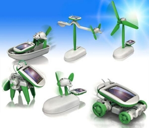 China se-2011 6 in 1 Solar Robot Kit on sale