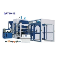 Concrete block making machine QT10-15 Concrete Brick Making Machine