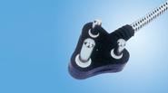 China AC Power Plugs 338122 PH122(South Africa Plug) on sale