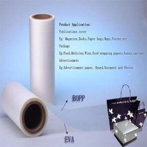 China BOPP Thermal lamination film through SGS/ROHS on sale