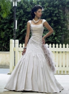 China wedding dress wedding dress LU5315 on sale