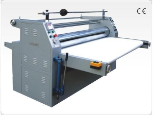 China SDFM-1050 Fully Automatic Laminator product name:YDFM-1750 Leather Embossing Machine on sale
