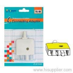 China extension cords Telephone Plug Adaptor on sale
