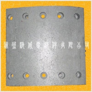 China BPW brake lining on sale