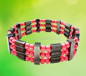 China Hematite Magnetic Jewelry Magnetic Hematite Bracelet on sale