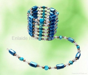 China Hematite Magnetic Jewelry Hematite Magnetic Wrap Jewelry on sale