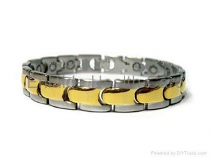China Stainless Steel Jewelry Stainless Steel Magnetic Bracelet on sale