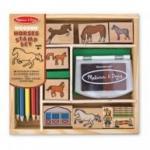 Melissa & Doug Horse Stamp Set