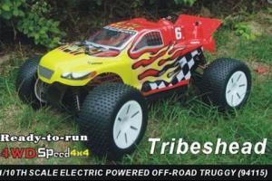 China R/C Gasoline Car 1/10 R/C EP Truggy on sale
