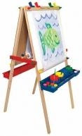 China Childrens' Deluxe Standing Art Easel on sale