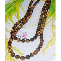 tiger eye Semi-precious stone necklace