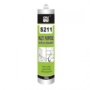 China S211 Multi-Purpose Acrylic Sealant on sale