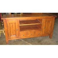 Reclaimed Wood Furniture Small TV Stand