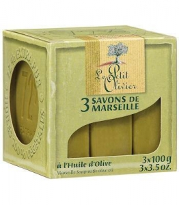 China Marseille soaps (3) with Olive Oil by Le Petit Olivier on sale