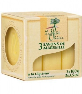 China Yellow Glycerin (3) Marseille Soaps by Le Petit Olivier on sale