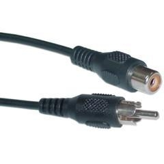 China RCA Audio / Video Extension Cable, RCA Male to RCA Female, 3 foot on sale