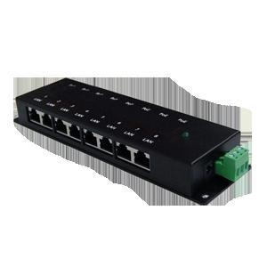 China 8 Ports Passive Gigabit PoE Injector on sale
