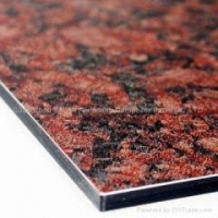 China Anchoe Panel Stone Aluminium Composite Panel on sale