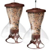 China Perky-Pet Fortress The Bird Shelter Squirrel Proof Bird Feeder - 2 Pack on sale