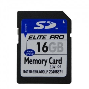China 16GB SD Memory Card - Secure & Compatible on sale