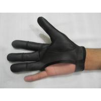 China Archery 4 Finger glove on sale